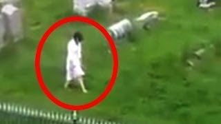 5 Cemetery Ghosts Caught on Camera5 Scariest Videos Caught on Camera & Spotted In Real Life!1. Credits: ParanormalCamera & CrazyTapeGhost girl walking in the cemetery https://www.youtube.com/watch?v=IUiVXBvyCV0Subscríbe►http://bit.ly/1T4epcQMore Videos ► http://bit.ly/1Tvc4Ss*No copyright infringement intended. Video will be removed if requested by the copyright owner.