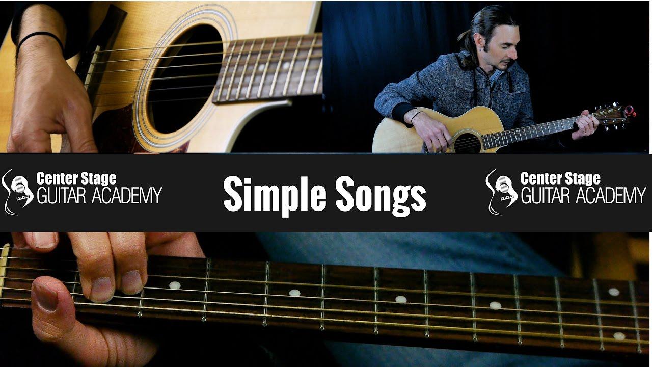 Beginner Guitar Lesson 2 – Easy Guitar Songs