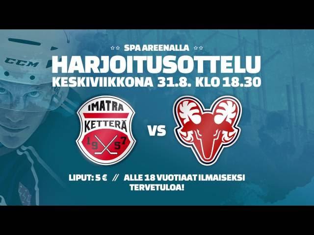 KETTERÄ - SAPKO, ottelumainos 31.8.
