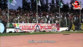 CAF: ASO 1-1 CA 17/04/2015ULTRAS POLINA 2010- ECHANGE WLID EL HAMRA CHIKOUR CURVA SUD