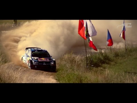 WRC Rally Poland - Big Jumps and Powerslides / EvoStudio / (видео)