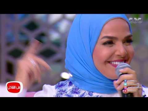 """منى عبد الغني تغني في الحلقة القادمة من """"معكم منى الشاذلي"""""""