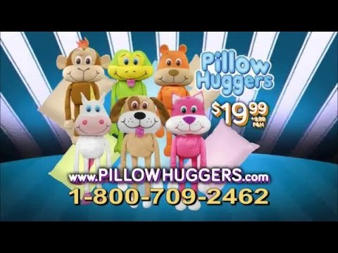 Toy Commercial 2015 - Pillow Huggers Stuffed Animal Friends - Fill Your Dreams With Love