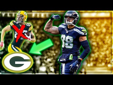 Packers Sign Jimmy Graham + Cut Jordy Nelson -- Should The Eagles Sign Jordy Nelson? | My Reaction