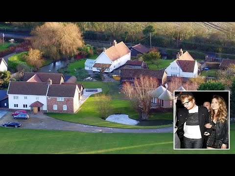 Ed Sheeran buys four homes next to each other in Suffolk village  - News 247