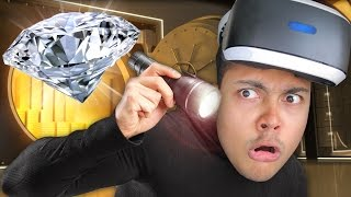 STEAL THE DIAMOND IN VIRTUAL REALITY • !!! (PSVR - The London Heist) - PlayStation Virtual Reality