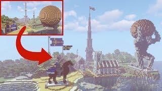 Transforming Pewdiepie's Minecraft Base