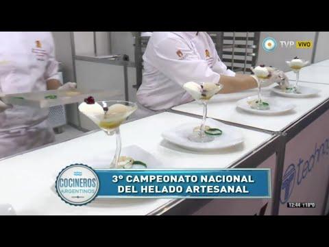 Campeonato nacional del helado artesanal 2015