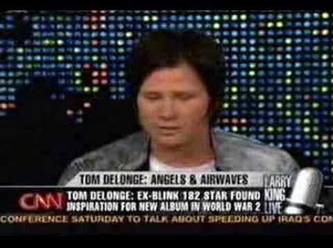 Larry King Live: Tom Delonge Part 1. Length: 7:1; Rating Average: 4.626422'