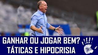 O Cruzeiro jogou ofensivamente, como a torcida pedia, mas tropeçou no Avaí. A partir daí, vale a reflexão: Mano Menezes deve voltar a adotar uma postura mais defensiva, que busque apenas o resultado, ou deve manter o time mais agressivo, atacando e visando o gol? Confira o vídeo e deixe a sua opinião.AJUDA NÓIS! DEIXA SEU LIKE, COMPARTILHE O VÍDEO COM OS AMIGOS E SE INSCREVA NO CANAL! REDES SOCIAIS DO SEIS A UM:Facebook: https://www.facebook.com/canal6a1Instagram: https://www.instagram.com/seisaumTwitter: https://www.twitter.com/canal6a1