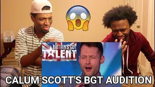 Video Golden boy Calum Scott hits the right note | REACTION | Britain's Got Talent 2015 MP3, 3GP, MP4, WEBM, AVI, FLV Juli 2018