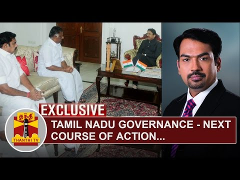 EXCLUSIVE-Tamil-Nadu-Governance--Next-Course-of-Action-Thanthi-TV