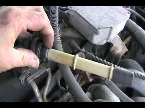 #922 redneck repair 97 lincoln continental motor [Davidsfarm]