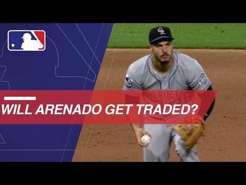 Video: Nolan Arenado's name coming up in trade rumors