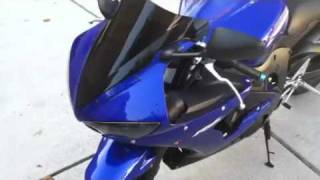 10. Yamaha R6S 2008