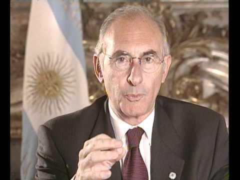 Fernando De La Rúa - Declaración del estado de sitio - 19/12/2001