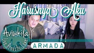 Video Armada - Harusnya Aku (Live Acoustic Cover by Aviwkila) MP3, 3GP, MP4, WEBM, AVI, FLV Maret 2019