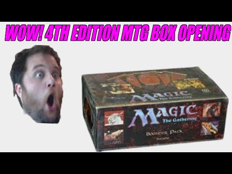edition - I crack open this super old 4th edition booster box, somewhat celebrating Halloween but kind of not really :) Enjoy.