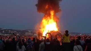 El entierro del Boquerón, Carnaval de Málaga