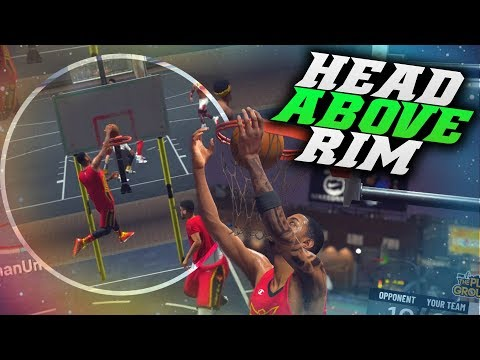 They Didn't Score! Head Above The Rim Dunks! Nba 2k19 Park Gameplay (pure Slasher)