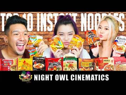 Food King Singapore: Top 10 Best Instant Noodles!