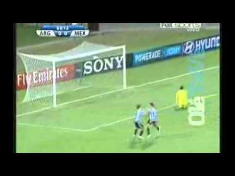 Lamela clavó el 1-0 para Argentina. (Fox Sports)   Olé   Diario Deportivo.flv