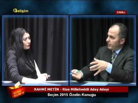 Rahmi Metin -  SEÇİM 2015 ( CANLI YAYIN)