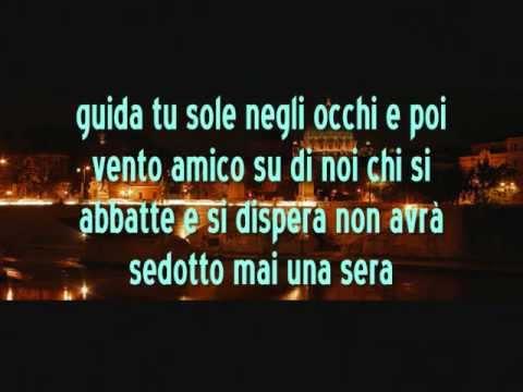 , title : 'Renato Zero - Regalati una sera (testo)'