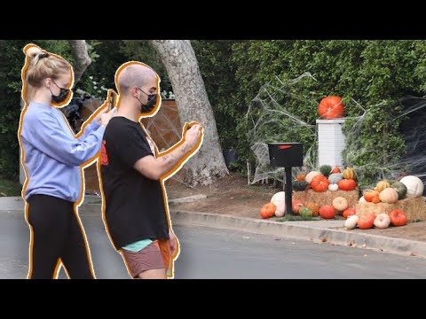 Sophie Turner And Joe Jonas Spookify Their Home By Hiring Halloween Decorating Crew