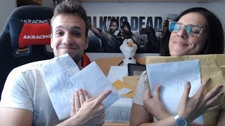 Hola a todos!!! Nuevo vídeo muy especial abriendo vuestros cartas y regalos :D! Os recordamos que podéis mandarnos lo que queráis a esta dirección postal:Sergio GarciaApartado de correos nº 74092Madrid, EspañaCódigo Postal 28080Like compartir, reír y muchos besitos! Os queremos Mundo!●Suscribete!!! : https://www.youtube.com/c/yugoyyaima?sub_confirmation=1● Canal YYYugo: https://www.youtube.com/c/YYYugoGames● Canal YYYaima: https://www.youtube.com/channel/UCLZXQIXq4PuVF_WOiLF66Og● Canal YYY 2: https://www.youtube.com/channel/UC72_oDJGjNBoFkdXmD51Q_gSe el primero en enterarte de los nuevos vídeos:● Nuestra App: http://myapp.wips.com/yugoyyaimaSi quieres conocernos mejor puedes seguirnos en:● Facebook: https://Facebook.com/YugoyYaima● Twitter: https://twitter.com/YugoyYaima●Instagram: https://www.instagram.com/yaimayyugo/●Otros juegos del canal:Beyond Two Souls, Yandere Simulator, Minecraft, Until Dawn, Evil Within, FNAF 2 y FNAF 3, FNAF 4,  Los Sims 4, Dragon Ball Xenoverse, Dragon Age Inquisition, Emily Wants to Play, Outlast, Whos your Daddy y mucho mas :D!