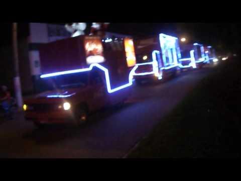 Natal Coca Cola em Trindade.