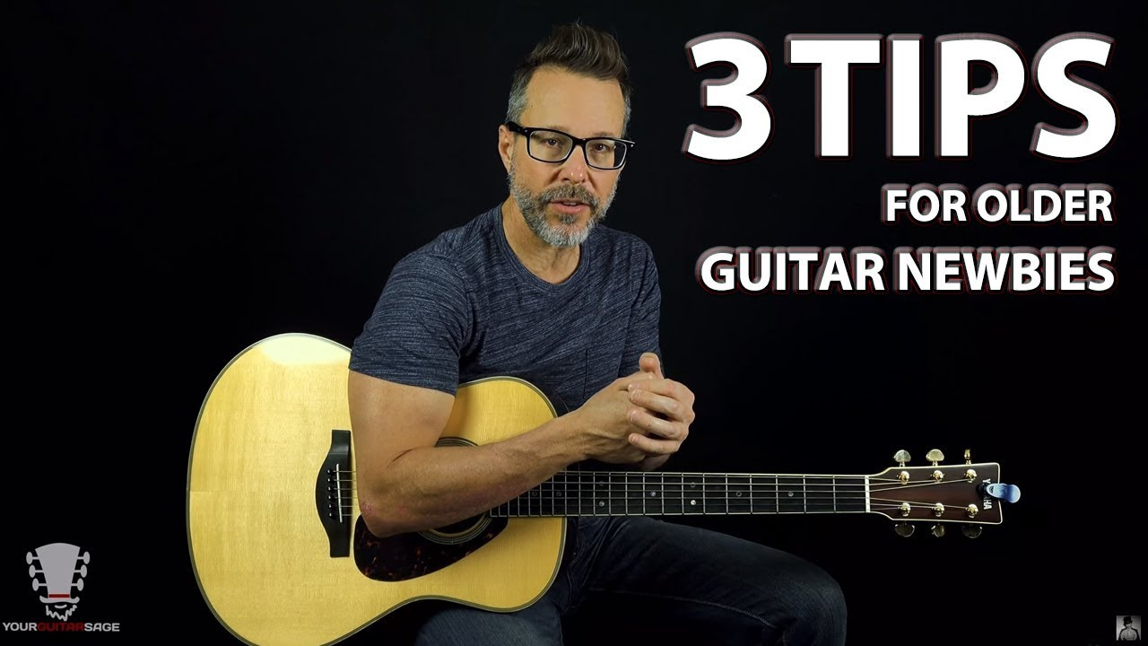 3 Tips for Older Newbie Guitar Players