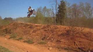 8. Jumping Suzuki DRZ 125