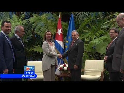 Engere Beziehungen zwischen Europa und Kuba