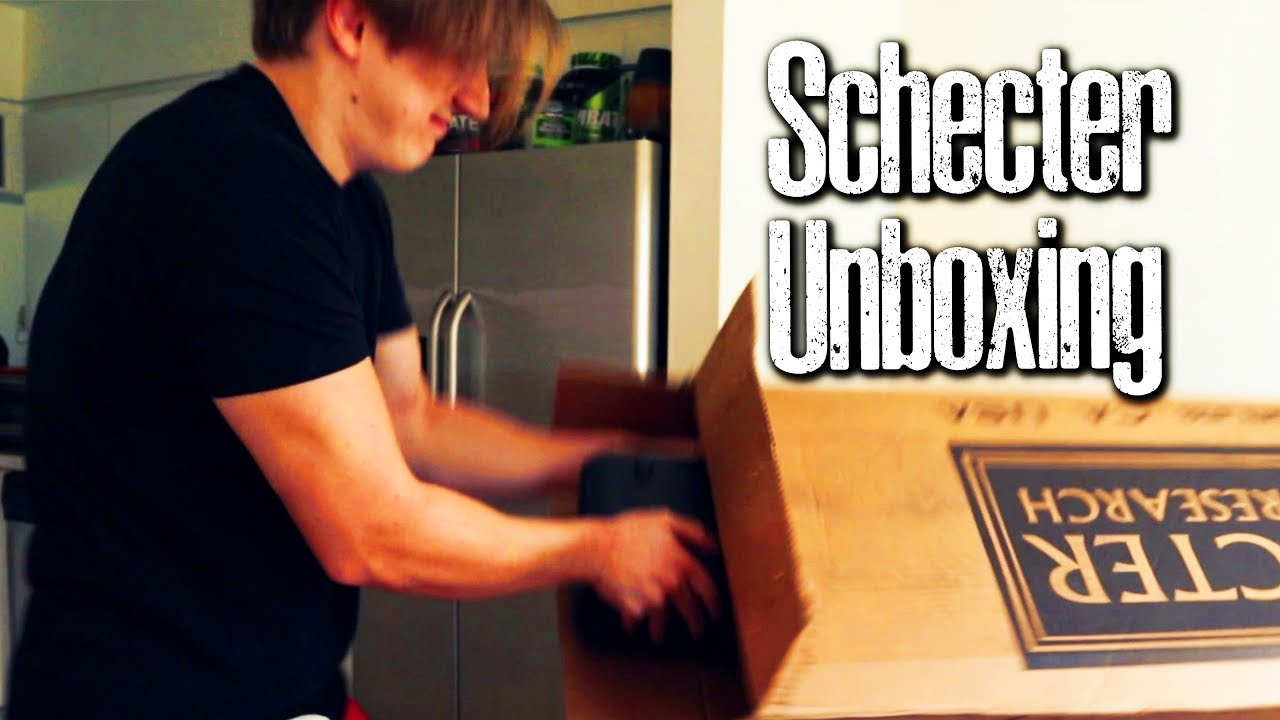 They Sent Me Another Free Guitar Because I make YouTube Videos (Schecter Unboxing)