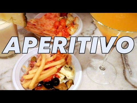 Aperitivo in Milan, Italy for a taste of food, drinks and nightlife