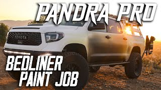 The Pandra – Full Bedliner Custom Paint Job
