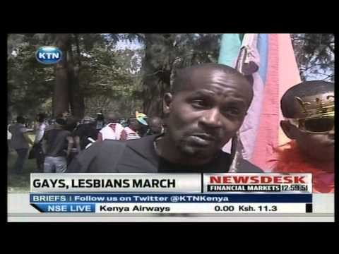 kenya - Kenya Gay Community demand their rights Watch KTN Streaming LIVE from Kenya 24/7 on http://www.ktnkenya.tv Follow us on http://www.twitter.com/ktnkenya Like ...