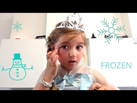 AMY#tuto maquillage #la reine des neiges #frozen
