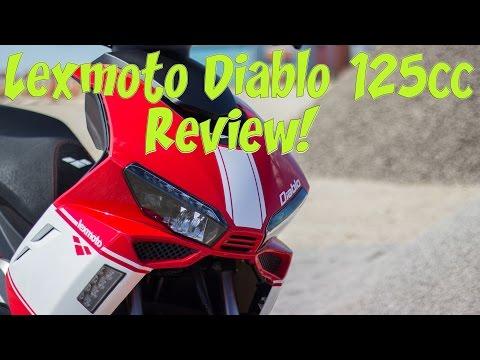 Lexmoto Diablo 125cc Review!