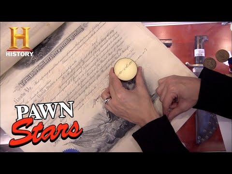 Pawn Stars: Rebecca Reveals Military Documents Worth HUGE $$$ (Season 7) | History