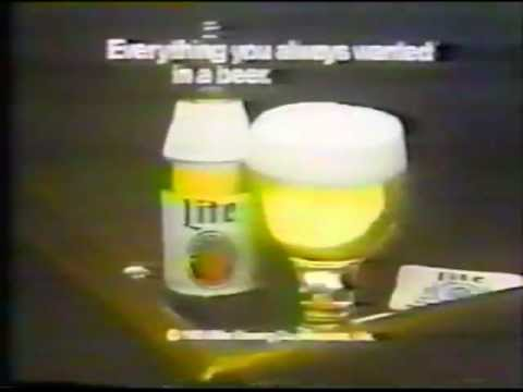 1981 Miller Lite beer commercial. Featuring John Madden.