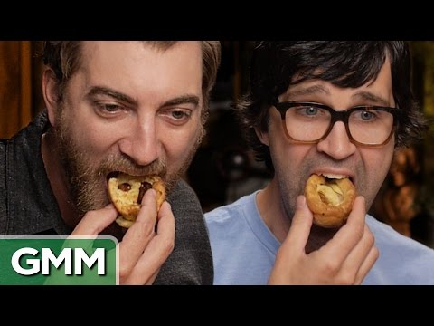 food - Sorted Food cooked us some strange British dishes! GMM #546! Good Mythical MORE: http://youtu.be/tBcpzXOAiMM For a free trial of Lynda.com go to - http://lyn...