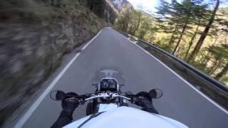 10. Gorges du Pichoux - Motorrad BMW R1200 GS Triple Black