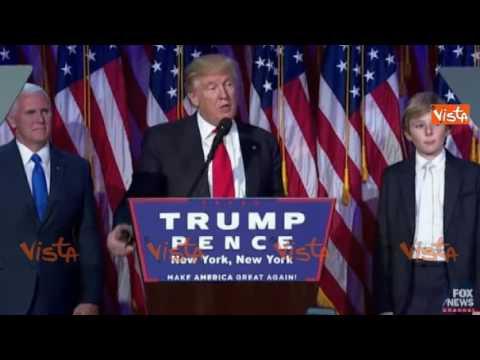 donald trump è il nuovo presidente degli stati uniti d'america