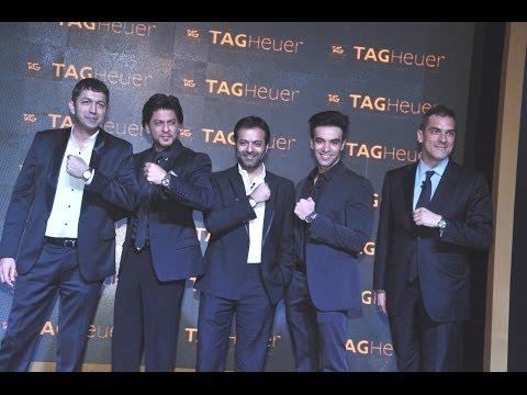 Brand Ambassador SRK at the TAG Heuer Golden Era of the Carrera Celebrations