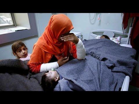 Ιράκ: Στο νοσοκομείο παιδιά με συμπτώματα έκθεσης σε χημικά όπλα