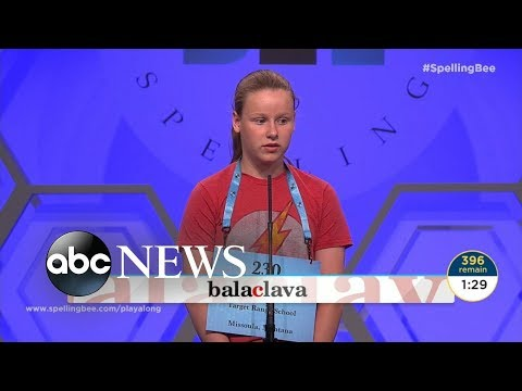 Girl makes history at National Spelling Bee