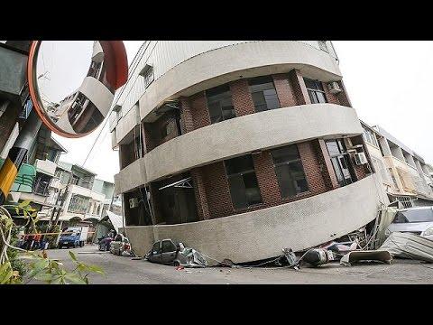 Ισχυρή σεισμική δόνηση στην Ταϊβάν