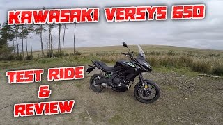 3. #159 Kawasaki Versys 650 2017 Detailed Test Ride & Review!